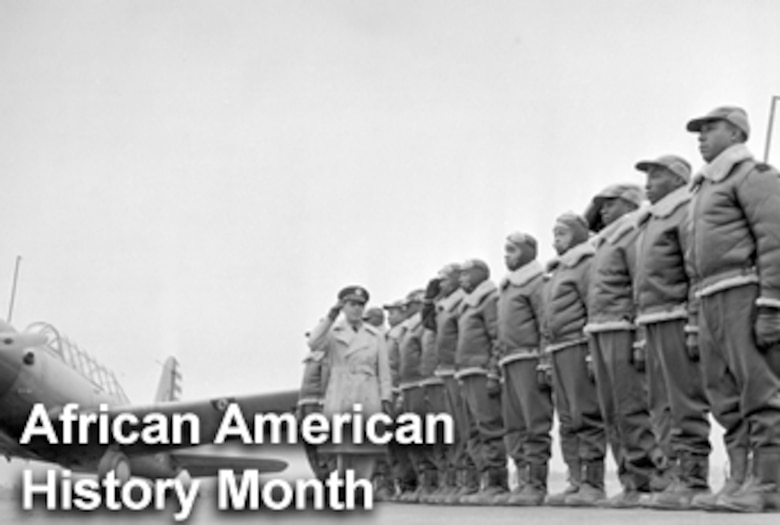 National African-American History Month is traditionally celebtrated during the month of February.  Activities and events are held throughout the month to commemorate the contributions to the nation made by people of African descent.  (U.S. Air Force photo illustration)