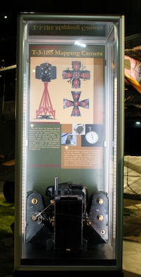 DAYTON, Ohio -- T-3-1B5 Mapping Camera on display in the Early Years Gallery at the National Museum of the United States Air Force. (U.S. Air Force photo)