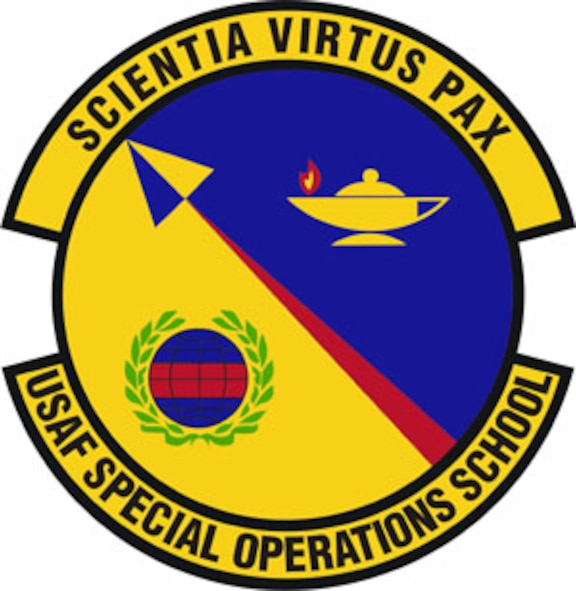 USAF Special Operations School disc