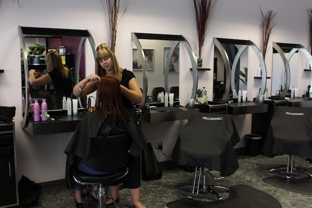 Exclusive Hair Salon Arrives At Pendleton Marine Corps Base Camp