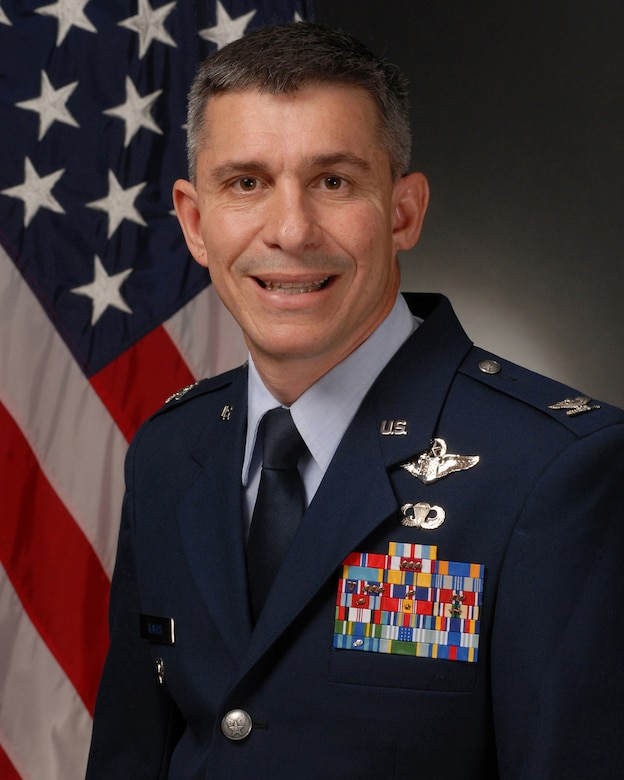 Col. Mark Vlahos, 314th Airlift Wing vice commander