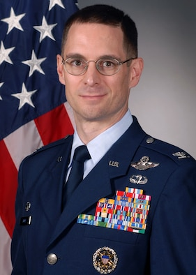 Col. C.K. Hyde, 314th Airlift Wing commander