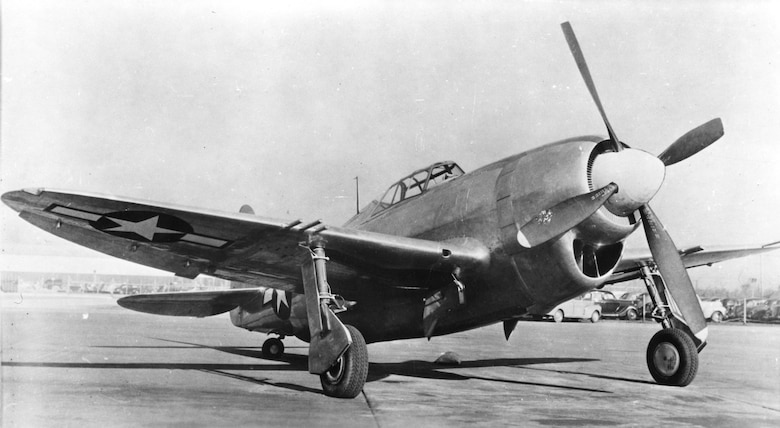 Republic XP-47J. (U.S. Air Force photo)