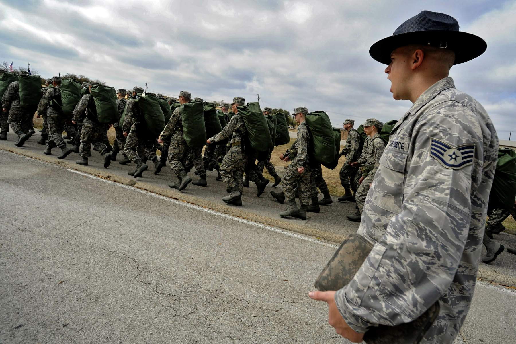 Air force photos training basic