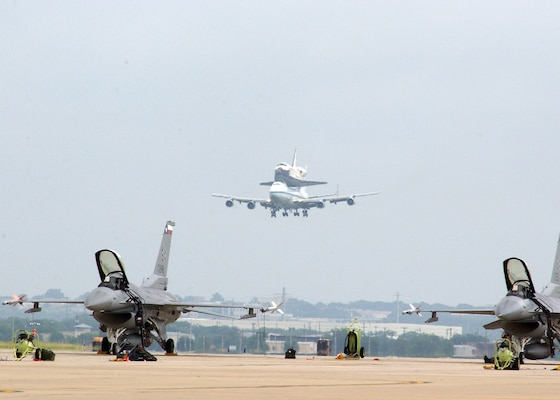 kelly afb space shuttle carrier aircraft -#main