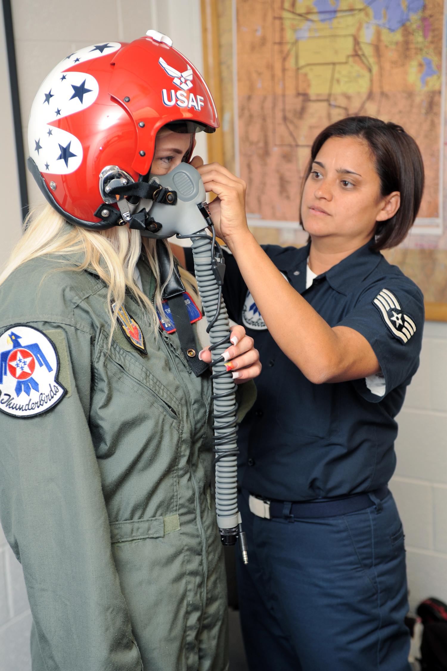 Look - Air flight force suit patch placement video