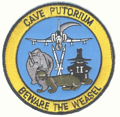 Wild Weasel patch. (U.S. Air Force photo)