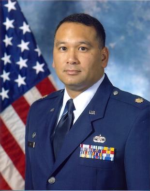 Maj. Paul Cruz Commander 44th Aerial Port Squadron
