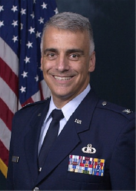 Official U.S. Air Force photo of Col. Norbert Madera, 601st Air & Space Operations Center chief of Combat Plans.