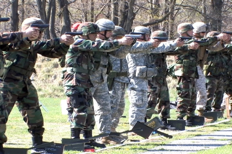 Members of the 174th Fighter Wing Pistol and Rifle Team competed at the annual TAG Match, which they came in 1st Place for the fourth consecutive year in a row. (174th Fighter Wing Courtesy Photo/RELEASABLE)