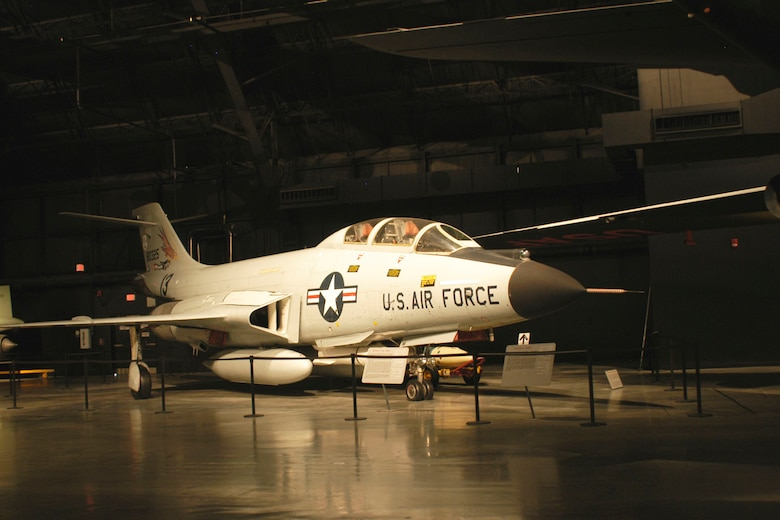 DAYTON, Ohio -- McDonnell F-101B Voodoo in the Cold War Gallery at the National Museum of the United States Air Force. (U.S. Air Force photo)