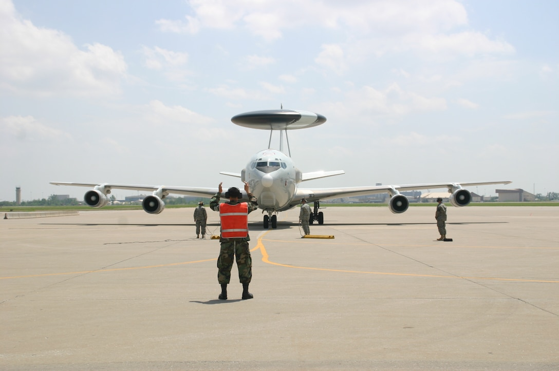 Later this month, a crew from the 552nd Air Control Wing will take an E-3