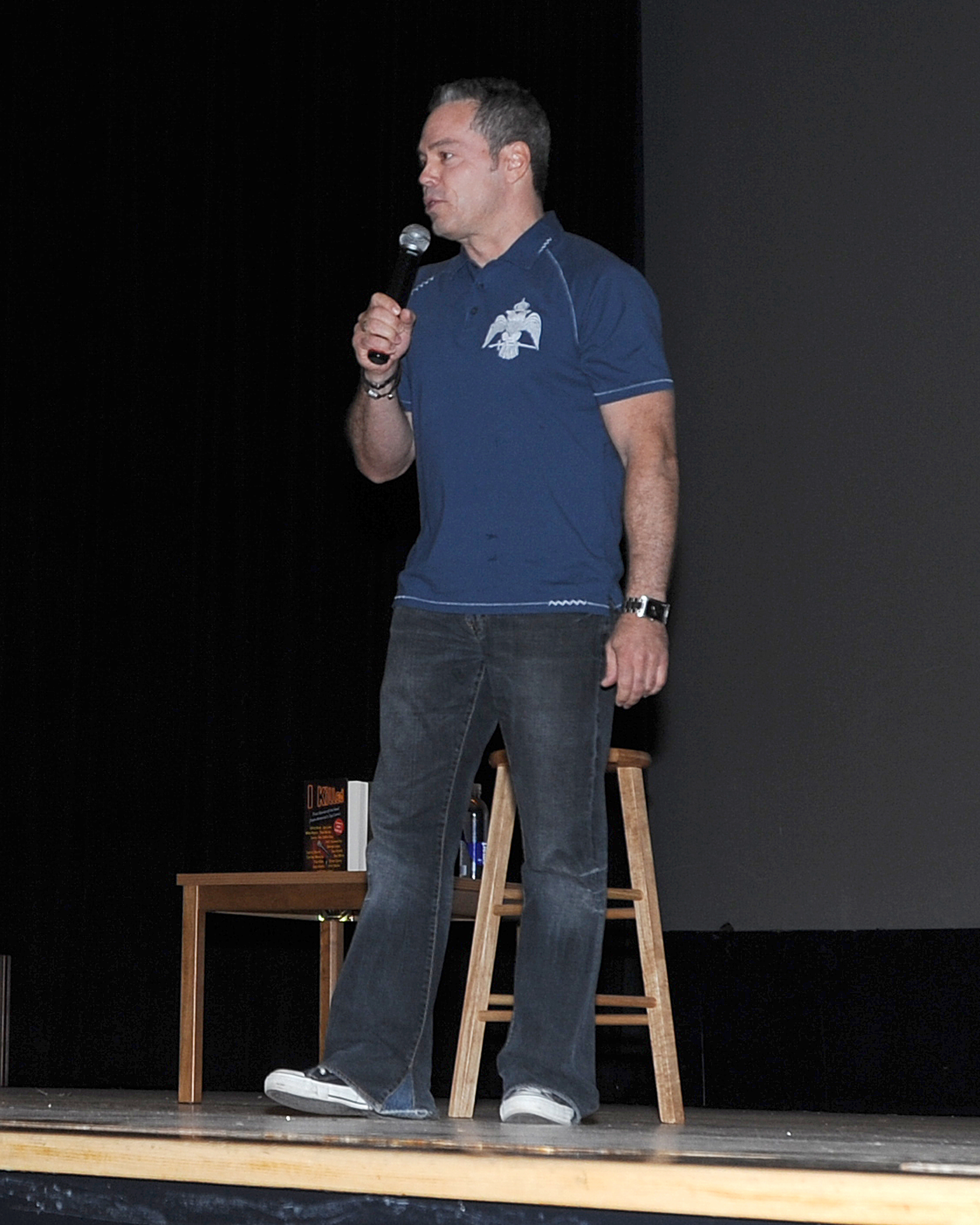Comedian laughs at abuse, more > Joint Base Elmendorf