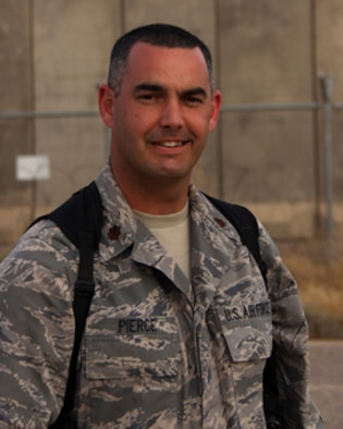 Maj. Bill Pierce learned June 1, 2009, that he is being promoted to principal of the Kirkland Elementary School in Putnam City, Okla., in the coming school year. He is a reservist in the 507th Air Refueling Wing at Tinker Air Force Base, Okla., and is currently deployed to Joint Base Balad, Iraq.
