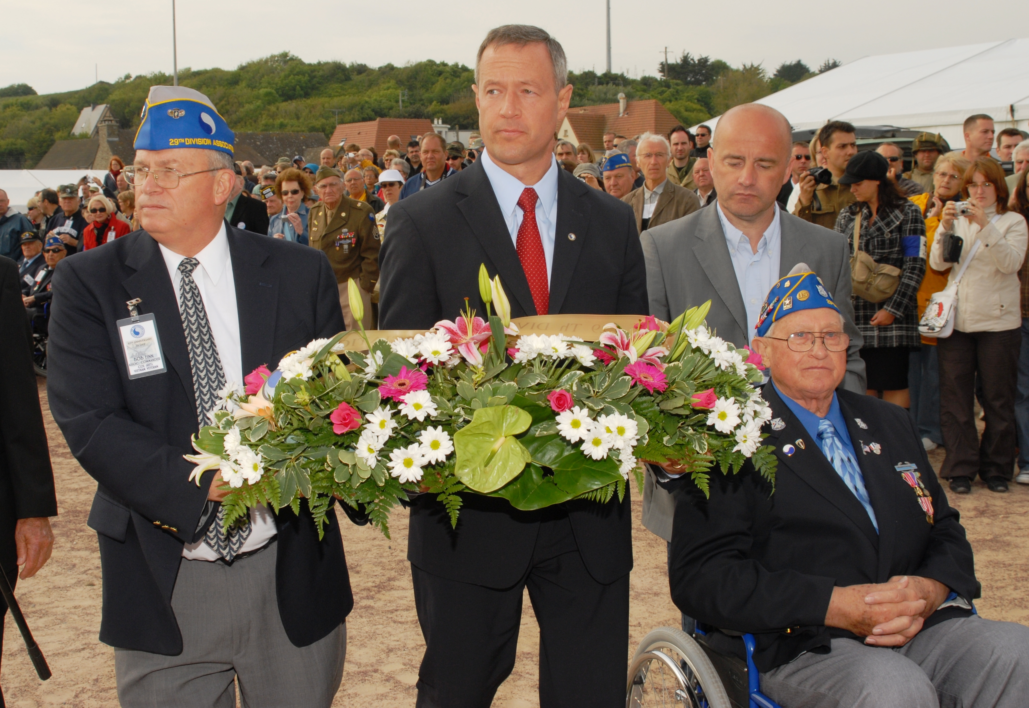 Governor OMalley Joins President Obama World Leaders For 65th Anniversary Of D Day