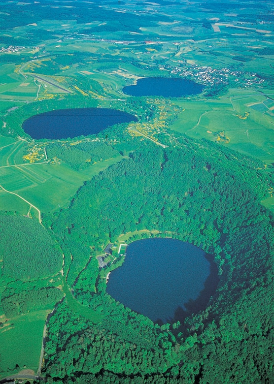 SPANGDAHLEM AIR BASE, Germany - Many years ago volcanoes spewed lava, ash and stone across the Eifel mountains. The volcanic craters have since calmed, some filling with water, turning the area into a popular tourist location providing swimming, boating, fishing and other leisurely activities. (Courtesy photo)