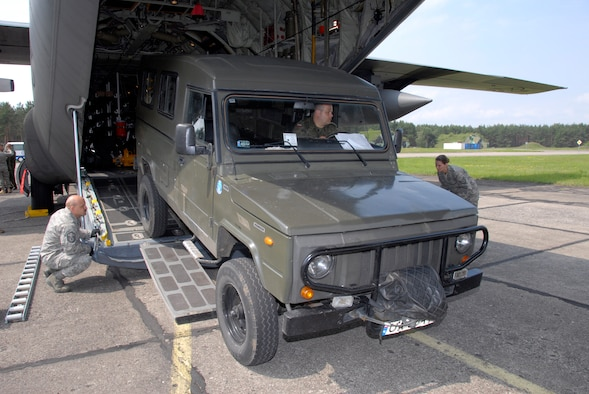 Chief Master Sgt. Rick Barnick, 169th Airlift Squadron Chief Loadmaster,