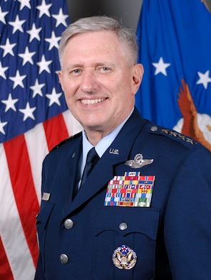 Official portrait of Gen. Roger Brady, U.S. Air Forces in Europe Commander