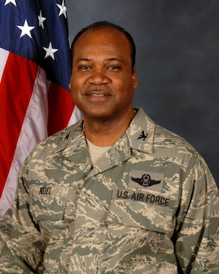 Lt. Col. Trevor Noel, Mission Support Group Commander