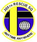 305th Rescue Squadron Shield