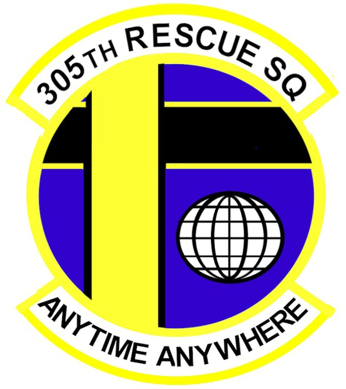 305th Rescue Squadron Shield