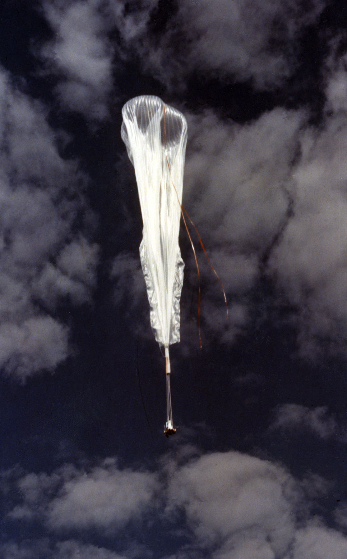 Image result for high altitude weather balloon that doesn't fully inflate at low altitude