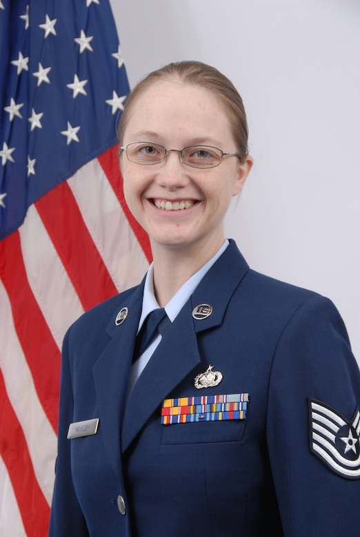 Staff Sergeant Brandie Yankush, Delaware Air National Guard NCO of the Quarter, First quarter FY 2008, October-December 2007. Sgt. Yankush is a supply management journeyman, 166th Logistics Readiness Squadron, and a resident of Smyrna, Del.. (U.S. Air Force photo/Staff Sgt. Melissa Chatham, Delaware Air National Guard)