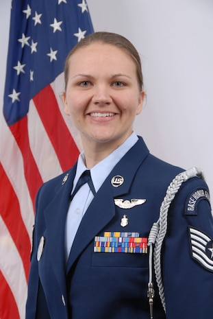 Technical Sergeant Elizabeth Fleischer, Delaware Air National Guard Outstanding NCO of the Year for 2008. Sgt. Fleischer is an aeromedical technician, 142nd Aeromedical Evacuation Squadron, and a resident of Newark, Del. (U.S. Air Force photo/Staff Sgt. Melissa Chatham, Delaware Air National Guard)