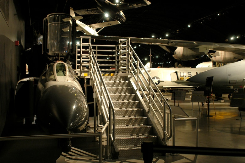 DAYTON, Ohio - F-4D Phantom II Sit-in Cockpit in the Cold War Gallery at the National Museum of the U.S. Air Force. (U.S. Air Force photo)