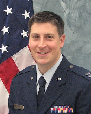 Capt. Steven Lewis, 50th Operations Group executive officer