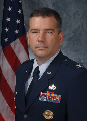 Col. Mitchel Butikofer, 50th Network Operations Group commander