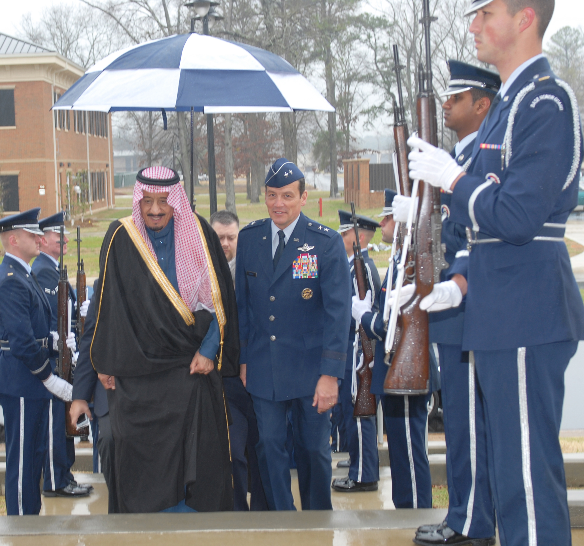 Royal Saudi Family Attends Pilot Training Graduation