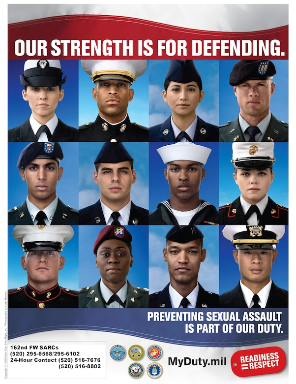 """The DoD theme for SAAM 2009 is """"Our Strength is for Defending."""" It's intended to highlight the fact that our mission not only involves national defense, but the defense and safety of the Americans who voluntarily risk their lives in our defense."""