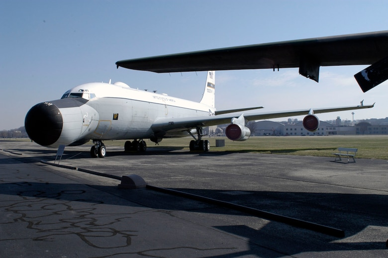 DAYTON, Ohio -- Boeing EC-135E ARIA at the National Museum of the United States Air Force. (U.S. Air Force photo)