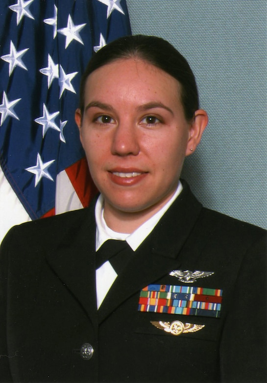 TEAM BUCKLEY WARRIOR OF THE WEEK -- Petty Officer 1st Class Coey Sipes, Naval Information Operations Command - Colorado, is Team Buckley's Warrior of the Week for Feb. 20 - 26. She hails from Sacramento, Calif., and is the training superintendent for the NIOC. (Courtesy photo)