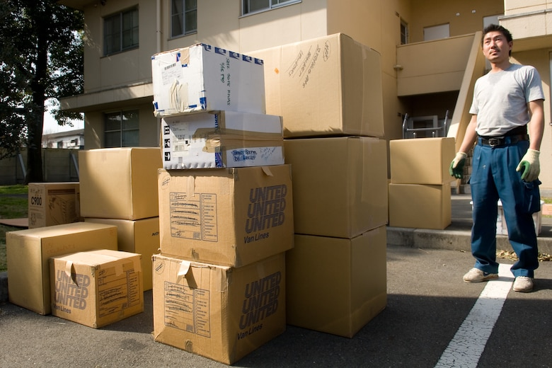 YOKOTA AIR BASE, Japan -- The 374th Logistics Readiness Squadron transitioned to the Defense Personal Property Systems March 16 in an effort to simplify the shipment of personal property for Department of Defense personnel. (U.S. Air Force photo/Osakabe Yasuo)