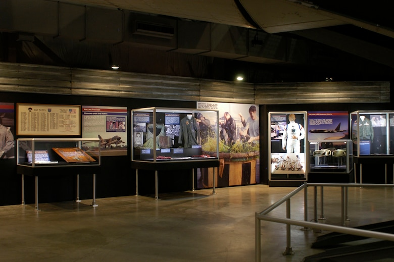 DAYTON, Ohio - A portion of the Badge of Honor: 100 Missions Up North exhibit in the Southeast Asia War Gallery at the National Museum of the U.S. Air Force. (U.S. Air Force photo)