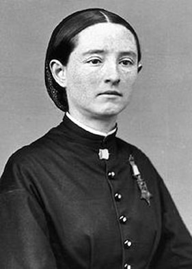 Mary Edwards Walker is the first and only woman in history to earn the Congressional Medal of Honor. When the Civil War broke out, she went to Washington and tried to join the Union Army. She was denied a commission as a medical officer but volunteered anyway, serving unpaid as an acting assistant surgeon, the first female surgeon in the U.S. Army. (photo courtesy of U.S. Army)