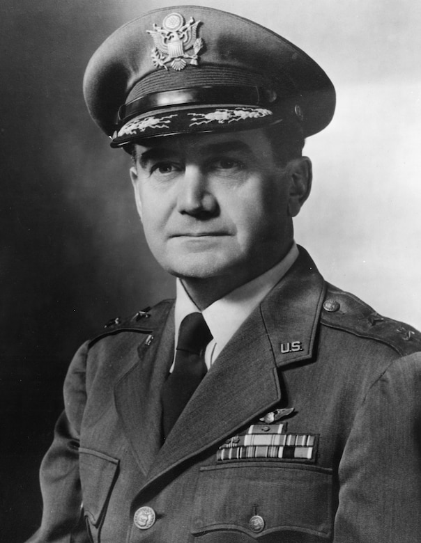 official photo of Maj. Gen. Wilford Hall (U.S. Air Force photo)