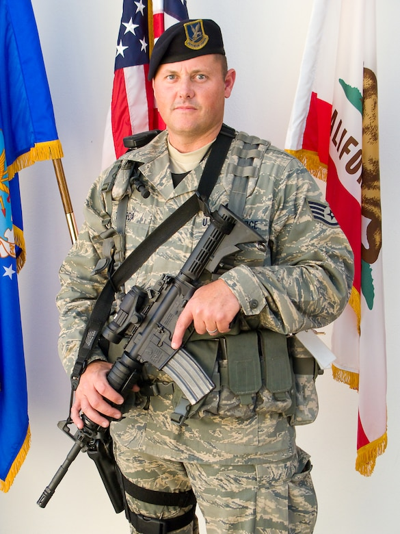 A prior-service Security Forces NCO, Staff Sgt. Michael Tjaarda shares his thoughts for this month's Portrait of a Professional.