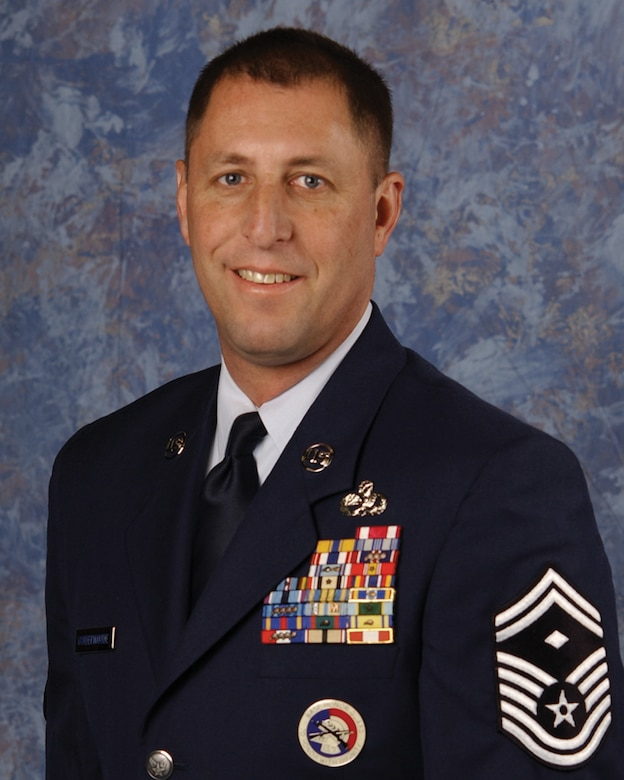 Senior Master Sgt. Jeffery C. Vander Woude is the First Sergeant for the 114th Maintenance Squadron and 114th Maintenance Operations Flight. Vander Woude resides in Sioux Falls.