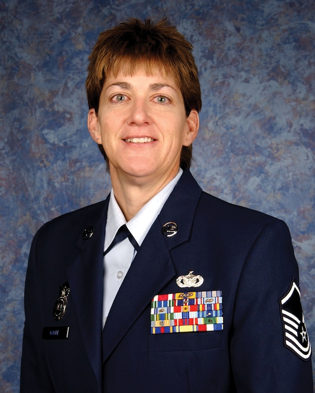 Master Sgt. Jeanne M. Gacke is the NCOIC for Plans and Programs with the 114th Security Forces Squadron.  Gacke resides in Sioux Falls.