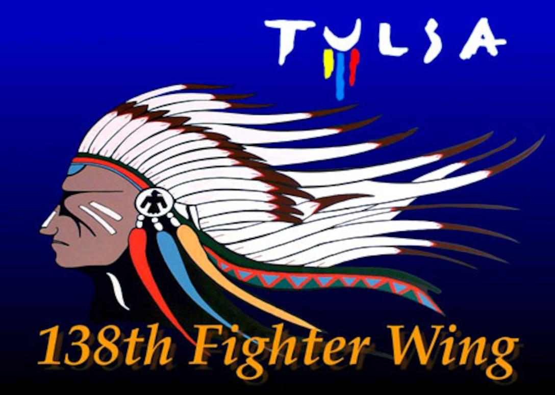 138th Fighter Wing, Tulsa Logo