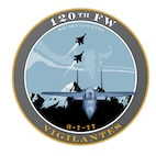 The patch of the 120th Fighter Wing of the Montana Air National Guard.