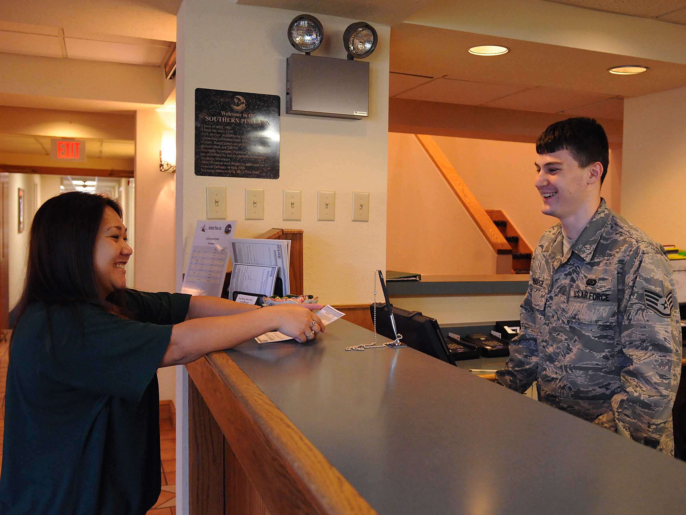 Base lodging earns high marks during inspection