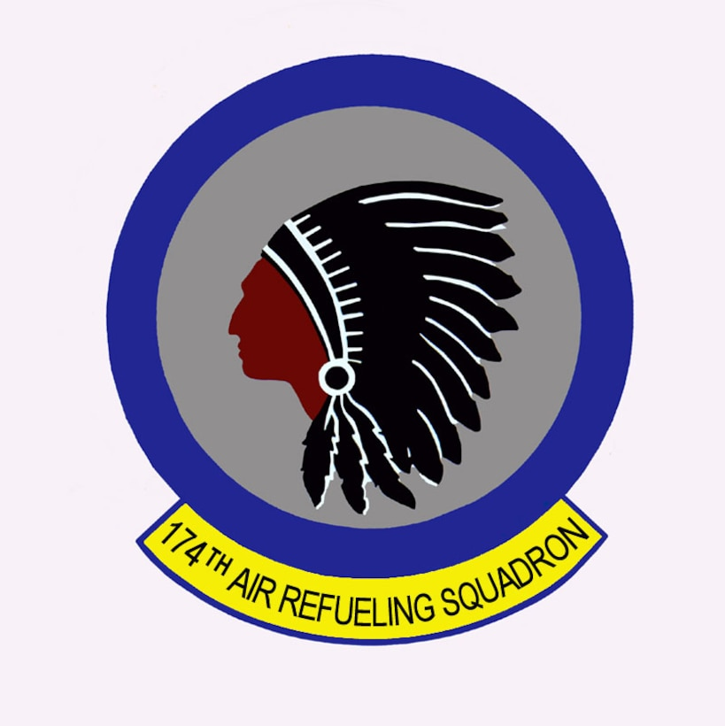 The 174th is the flying squadron of the 185th Air Refueling Wing, Iowa Air National Guard based in Sioux City, Iowa