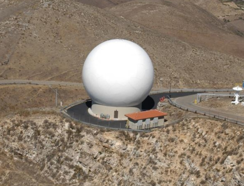 Once completed, the Oak Mountain antenna will look similar to this completed telemetry antenna.