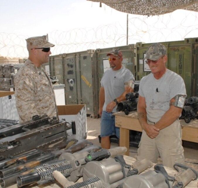 logistics command s senior enlisted marine retires. Black Bedroom Furniture Sets. Home Design Ideas