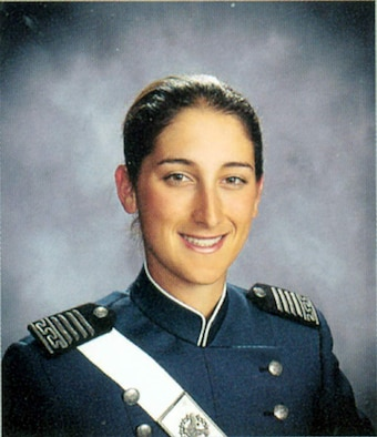 1st Lt. Roslyn L. Schulte, a graduate of the U.S. Air Force Academy, died May 20 near Kabul, Afghanistan, of wounds suffered from an improvised explosive device.  (U.S. Air Force photo)