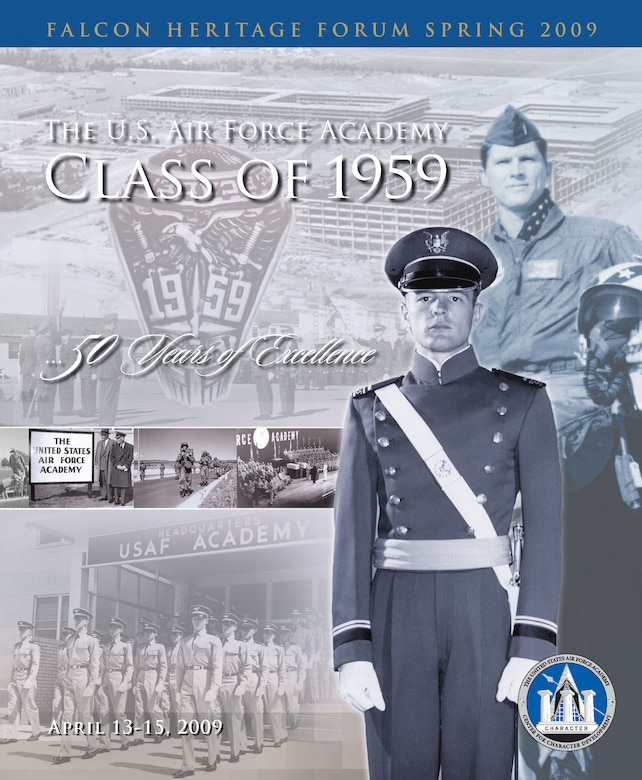 The Falcon Heritage Forum 2009, featuring the Class of 1959 -- the first class of U.S. Air Force Academy graduates.